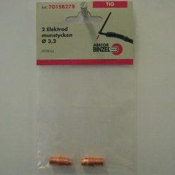 Elektrodmunstycke 3,2 mm L = 20,5 mm
