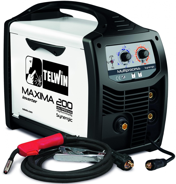 Icke gamla Telwin maxima 200 synergic MIG-MMA-TIG svets - ipprodukter.se KG-94